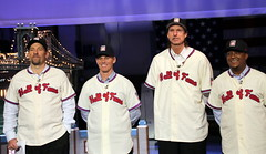New Hall of Famers visit Letterman (apardavila) Tags: sports baseball mlb lateshowwithdavidletterman randyjohnson edsullivantheater pedromartinez majorleaguebaseball johnsmoltz craigbiggio nationalbaseballhalloffame