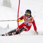 Sam Mulligan finishes 2nd in FIS Western Can Am Open slalom at Schweitzer Mtn. Resort PHOTO CREDIT: Derek Trussler