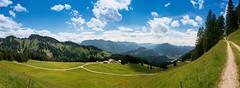 Alpe 2 (Wolfgang Staudt) Tags: weide landwirtschaft landwirtschaftlich berge alm alpen sonnig landschaft wandern alpe tourismus schwarzenberg wanderweg oesterreich vorarlberg bregenzerwald bezau sennerei sehenswert berglandschaft abgelegen doerflich allgaeueralpen