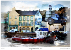 Youghal Market Dock - Digital Painting