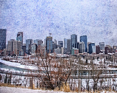 YYC (DASEye) Tags: city winter snow calgary nikon cityscape textures alberta davidadamson daseye