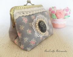Carteira Romantique Vintage I (AnnCrafts Artesanato) Tags: vintage tilda carteiras vintagepurse