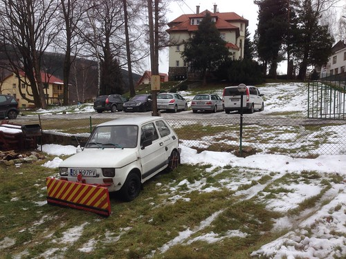 World's most implausible snow plough