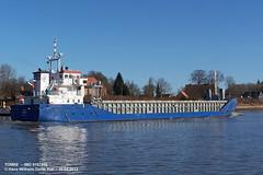 TOMKE (9197806) (006-26.02.2012) (HWDKI) Tags: ship vessel schiff imo tomke kielcanal frachter frachtschiff sehestedt delfs generalcargoship 9197806 hanswilhelmdelfs