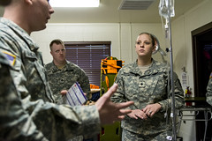Trauma junkies: Going beyond combat medical care (416thTEC) Tags: training soldier army photo unitedstates id photojournalism reserve headquarters pals idaho boise medical soldiers darien paramedic emt engineer tec armyreserve 416 emergencymedicaltechnician acls publicaffairs combatmedic amls 68w usarmyreserve 68c 416th armymedic advancedcardiaclifesupport idahonationalguard budgetminded pediatricadvancedlifesupport healthcareprovidercpr 416thtec gowenfieldairnationalguardbase theaterengineercommand engineercommunity emtrefreshercertificate mobilityaugmentationcompany prehospitallifesupport advancedmedicallifesupport civilianmedic costsavingtraining sapperadvancedtacticalmedicalcourse licensedpractitioningnurse