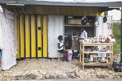 You're sure it will Work? - 7th September 2015 (princetontiger) Tags: street yellow kenya streetphotography roadside roadsidestalls