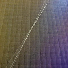 tightrope (MyArtistSoul) Tags: abstract black square blurry pattern squares minimal mat cutting cameramovement s100 0381