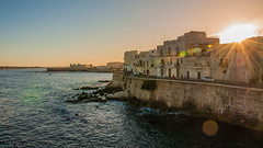 Sunset in Siracusa (Jess Albarrn Ords) Tags: sunset sicily sicilia siracusa