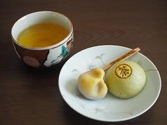 Nerikiri &  Manju (Japanese Sweets) (Toukou Sousui ) Tags: japan sweets manju nerikiri
