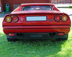1988 Ferrari 328 GTS (crusaderstgeorge) Tags: italy cars italian sweden 1988 ferrari 328 sverige classiccars gts redcars lvkarleby 1988ferrari328gts crusaderstgeorge
