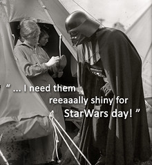darth_shiny_shoes_starwars_day (PhotoRestorationMan) Tags: composition shoes darthvader retouching starwarsday