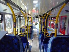 GAL EH52 - YX16OCH - INTERIOR - BV GARAGE - 28TH APR 2016 C (Bexleybus) Tags: bus london ahead interior garage go 400 belvedere dennis mmc bv enviro adl goahead eh52 yx16och