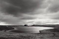 Distant sea stack, Shetland (Peter Laurence) Tags: shetland foula canonphotos gaadastack