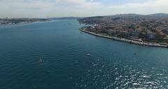 Bosphorus fom the air (CyberMacs) Tags: sea tower turkey trkiye istanbul bosphorus boaz byzantium kz kzkulesi kulesi skdar leanderstower byzantinearchitecture mdchenturm leanderturm towerofleandros