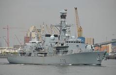 HMS Kent (7) @ Woolwich Reach 16-05-16 (AJBC_1) Tags: uk england london boat ship unitedkingdom military navy vessel frigate riverthames warship eastlondon rn gallionsreach royalnavy nikond3200 northwoolwich newham britisharmedforces militaryvessel navalvessel hmskent type23frigate woolwichreach londonboroughofnewham f78 ukmilitary gdir dlrblog ajc