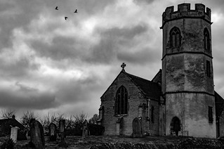 Barton st David church.Somerset uk