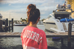 Fort Lauderdale girl (kdem) Tags: ocean sea canon boat dock florida yacht fortlauderdale teenager fl dockside ftl 18135 70d canon70d