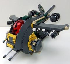 Gunship 7 (The Solitary Dark) Tags: classic lego space