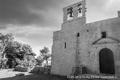 Erice (Lord Seth) Tags: 2015 chiesadisantorsola d5000 erice lordseth sicilia bw biancoenero borgo italy medievale nikon