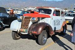 Mooneyes X-Mas Party 2015 (USautos98) Tags: chevrolet 1938 chevy hotrod custom streetrod gasser nostalgiadragracing