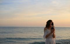 l o s t (Giorgio Gabe PH) Tags: blue sunset sea sun me girl beautiful beauty self landscape lost photography photo seaside picture pic io tumblr giorgiogabeph