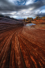In The Red (Mark Metternich) Tags: red arizona water lines sand sandstone tour desert surreal line workshop tours leading moonsoon otherworld workshops surrealscape markmetternich markmetternichcom