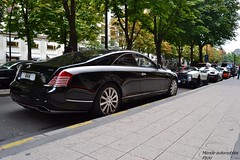 Xenatec Maybach 57 SC (Monde-Auto Passion Photos) Tags: auto paris france automobile noir coup maybach xenatec