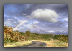 FOTOPINTURA. (manxelalvarez) Tags: naturaleza arcoiris nubes cielos arcodavella