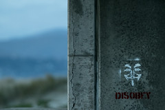 20160619_0121_7D2-200 Disobey (colour) (johnstewartnz) Tags: new color colour beach canon eos dawn brighton mark ii 7d 70200 newbrighton 70200mm newbrightonbeach presunrise apsc 7d2 unlimitedphotos 7dmarkii canonapsc