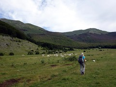 Starting out from Prato di Campoli (markhorrell) Tags: walking lazio apennines montiernici