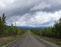 Robert Campbell Highway (RS_1978) Tags: wald sony strasse sonycybershotdscrx100m3 wolken kanada clouds forest fort nuages nuvole road yukonunorganized yukonterritory ca
