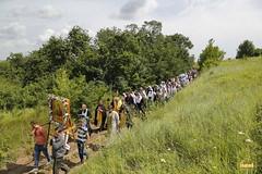 A cross procession from the village of Nikolskoe to the village of Adamovka / Крестный ход из Никольского в Адамовку (35)