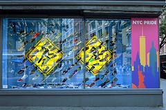 Fleet of Foot (Eddie C3) Tags: newyorkcity manhattan unionsquare broadway flatirondistrict paragon paragonsportinggoods storewindows storefronts