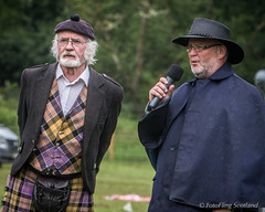 William Baxter & Games Commentator (FotoFling Scotland) Tags: scotland argyll event lochlomond highlandgames luss williambaxter lusshighlandgames lussgathering