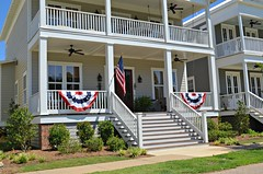 Independence Day Decor (The Waters AL) Tags: independence day 4th fourth july america flags stars stripes freedom lake cameron real estate new homes waters realty