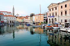 Harbour of Piran / Slovenia (anji) Tags: slovenia slovenija piran pirano adriaticsea istra istria exyu exyugoslavia southeasteurope