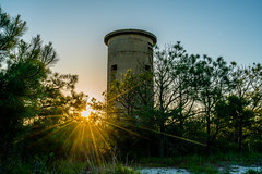 WWII Observation Tower (chriswheatley97) Tags: south bethany beach de delaware world war ii tower wwii sunrise sunstar observation