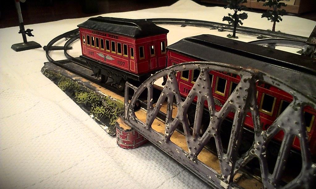 Powered Toys Toys, Hobbies Marklin O Gauge Clockwork Girder Bridge