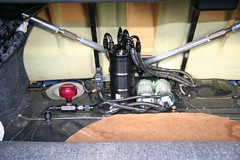 Subaru STi with Radium fuel surge tank (Radium Engineering) Tags: high tank performance subaru surge v8 fuel billet pantera