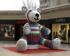 Nol  Marseille (Micheo) Tags: bear christmas navidad marseille nol marseilles marsella osito bonneveine centrecommercialbonneveine