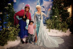 Anna, Nicholas and Elsa