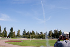 Rocket launch! (missyleone) Tags: august hobby rockets 2014 mcleans hobbyrockets