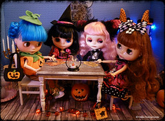 """""""Halloween!!! – Blythe A Day October 2014 out of the series Zoe's Halloween Party 2of5"""