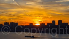 Sunset over the Hudson River, New Jersey (jag9889) Tags: sunset usa newyork colors river newjersey unitedstates unitedstatesofamerica nj hudsonriver waterway gardenstate 2014 northriver bergencounty jag9889 20141227