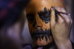 DkMk_Orange (piy_life) Tags: portrait halloween 50mm colours mask