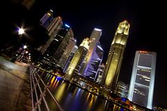(vinay_sn) Tags: canon singapore sigma boatquay lighttrail singaporebuildings sigmawideangle singaporeatnight