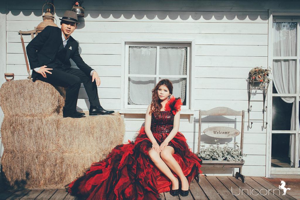 《PRE-WEDDING》崑霖 & 洪紅 自助婚紗 / 愛麗絲的天空