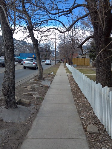 Photo - Arapahoe Avenue Reconstruction (Before)