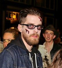 Bloody Guy (sea turtle) Tags: seattle city costumes urban halloween costume broadway capitolhill 2014