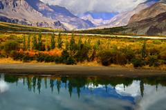 Main khud ik qadd e aadam Aainaa houn -- Tera Apna Sarapa Dekhnay ko (NotMicroButSoft (Fallen in Love with Ghizar, GB)) Tags: autumn water river lakes ghizar phandar gupis khalti gilgitbaltistan